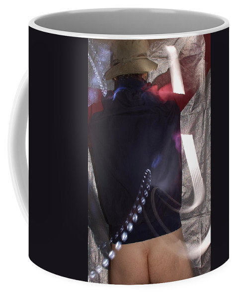 Color Photography Coffee Mug featuring the photograph Light Write by Kirk Griffith