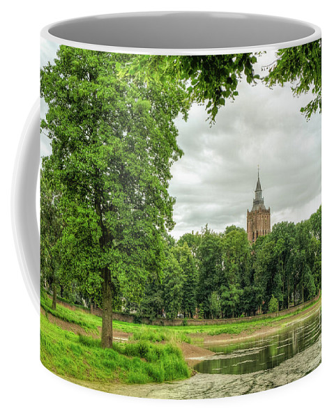 Linge Dutch Coffee Mug featuring the photograph Linge Route by Brothers Beerens