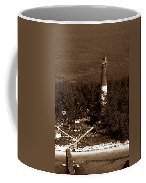 Lighthouses Coffee Mug featuring the photograph Loggerhead Key Lighthouse Fl by Skip Willits