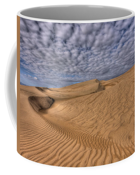 Sand Coffee Mug featuring the photograph Magic Of The Dunes by Beth Sargent