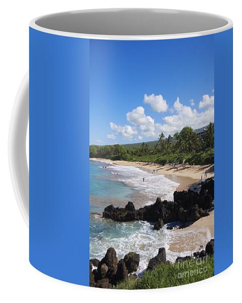 Beach Coffee Mug featuring the photograph Makena, Maluaka Beach by Ron Dahlquist - Printscapes