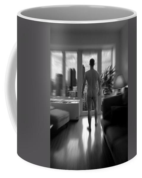 Nude Coffee Mug featuring the photograph Mark by Mark Ashkenazi