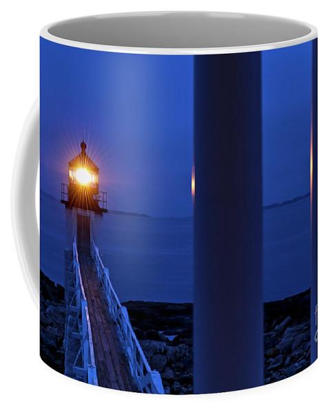 Maine Coffee Mug featuring the photograph Marshall Point Lighthouse by John Greim