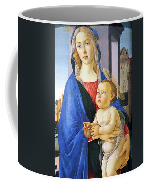 Religion Coffee Mug featuring the photograph Mary With Baby Jesus by Munir Alawi