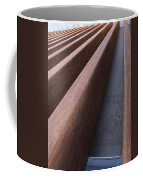 Museum Coffee Mug featuring the photograph MCA by Jeffery Ball
