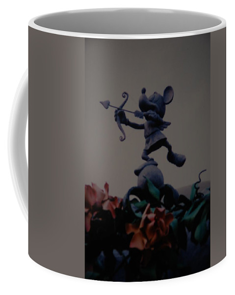 Micky Mouse Coffee Mug featuring the photograph Mickey Mouse by Rob Hans