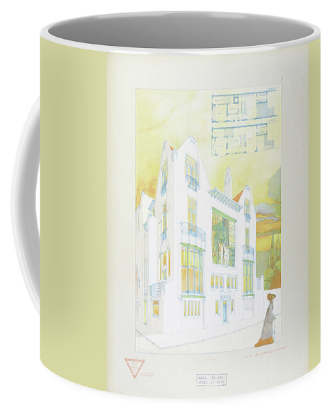 Max Joseph Gradl Coffee Mug featuring the digital art Modern Design by Mark Carlson