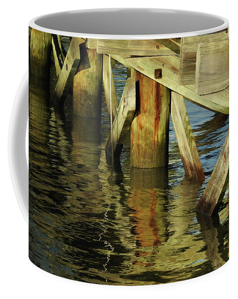 Water Coffee Mug featuring the photograph Morning Reflections by Laura Ragland