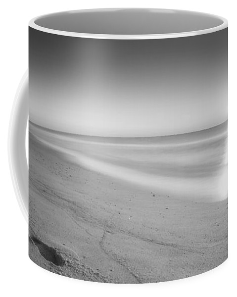 Sea Girt Coffee Mug featuring the photograph Morning Walk by Michael Ver Sprill