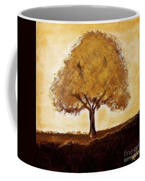Painting Coffee Mug featuring the painting My Tree by Marsha Heiken