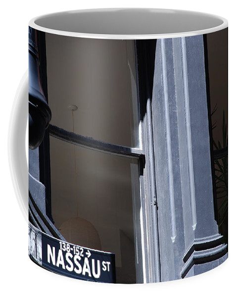 New York City Coffee Mug featuring the photograph Nassau Street by Rob Hans