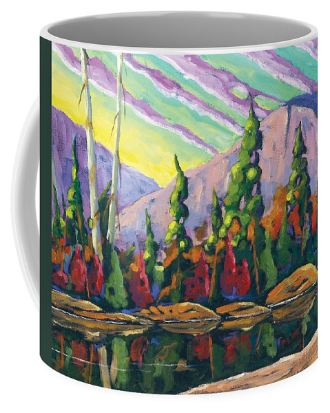 Art Coffee Mug featuring the painting Nature Expression by Richard T Pranke