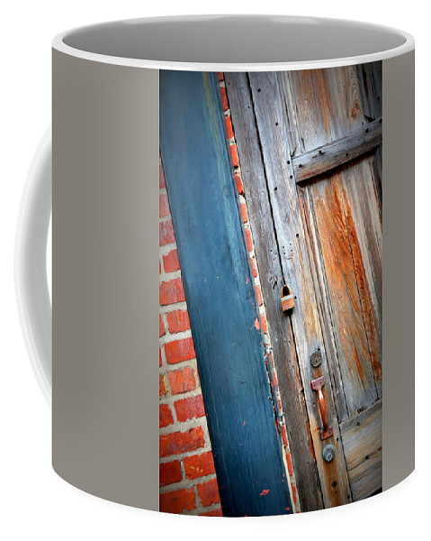 New Orleans Coffee Mug featuring the photograph New Orleans Door 2 by Carol Groenen