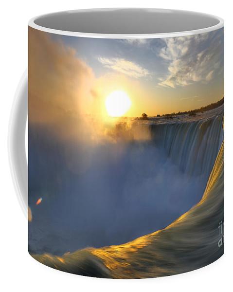 Niagara Falls Coffee Mug featuring the photograph Niagara Falls by Oleksiy Maksymenko