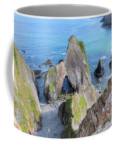 Nohoval Cove Coffee Mug featuring the photograph Nohoval Cove - Ireland by Joana Kruse