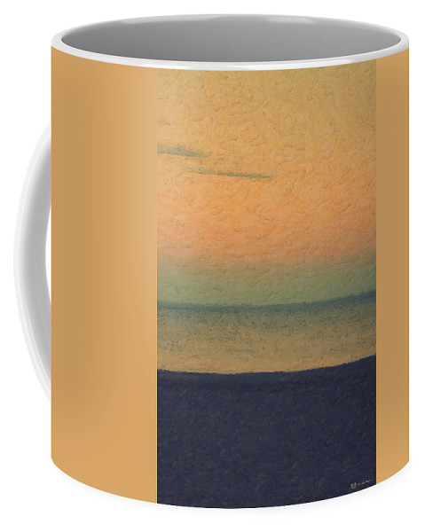 �not Quite Rothko� Collection By Serge Averbukh Coffee Mug featuring the photograph Not quite Rothko - Breezy Twilight by Serge Averbukh
