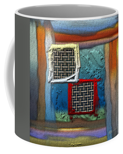 'abstracts Plus' Collection By Serge Averbukh Coffee Mug featuring the photograph Obstructed Ocean View by Serge Averbukh