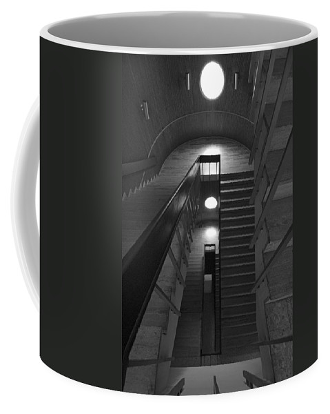 Oculus Coffee Mug featuring the photograph Oculus by Robert Ponzoni