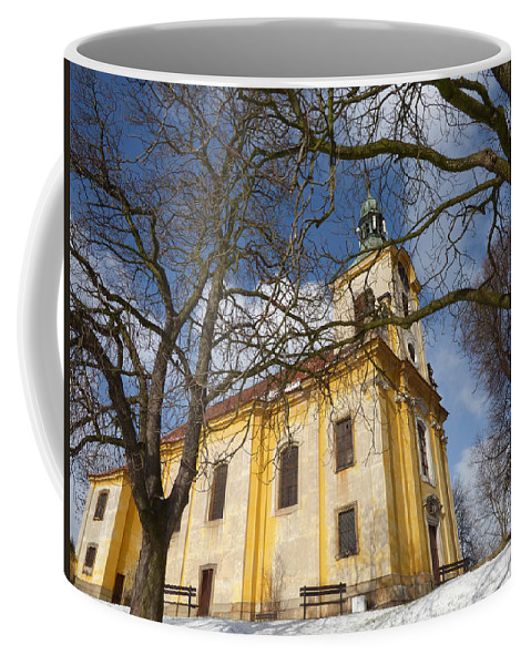Church Coffee Mug featuring the digital art Old Church by Miroslav Nemecek