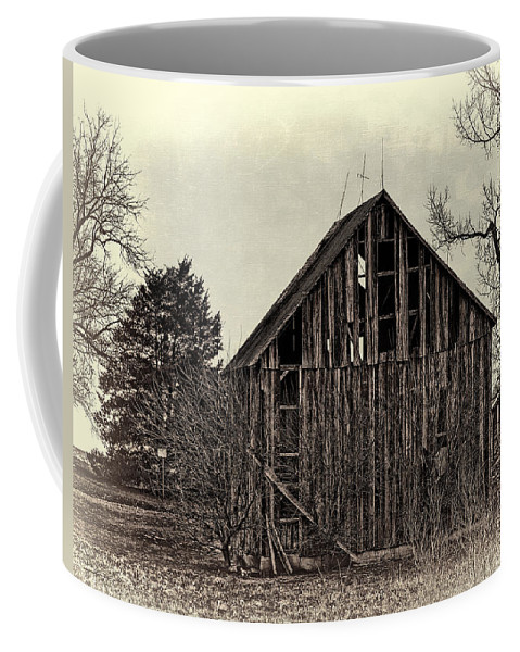 Old Coffee Mug featuring the photograph Old Days by Theresa Campbell