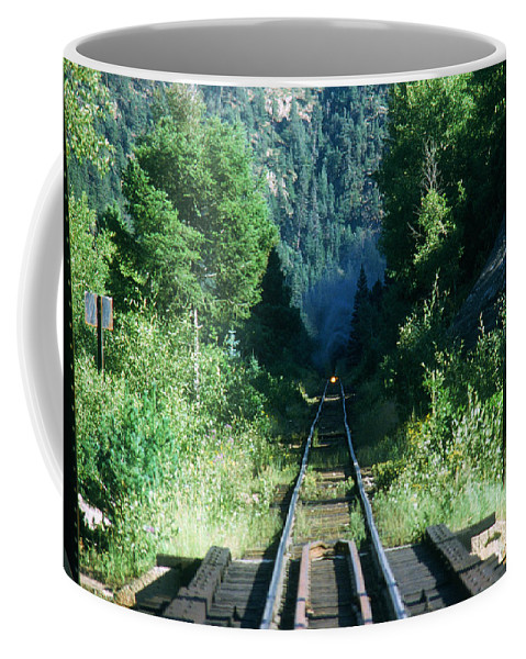 Trains Coffee Mug featuring the photograph On My Way by Jeffery L Bowers
