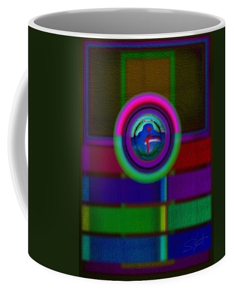 Portal Coffee Mug featuring the painting One by Charles Stuart
