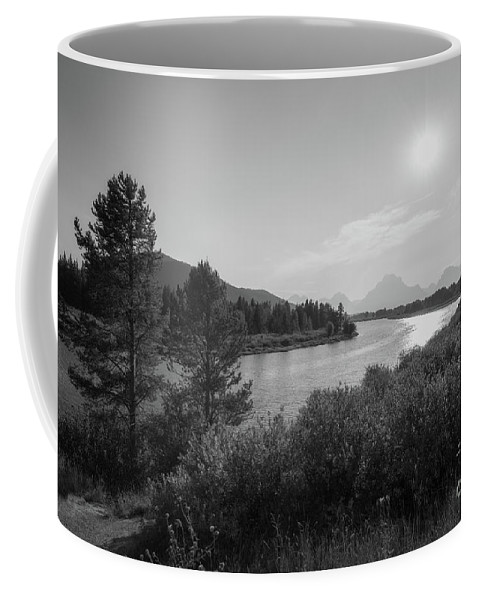 Oxbow Bend Coffee Mug featuring the photograph Oxbow Bend Grand Teton National Park by Michael Ver Sprill
