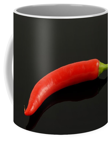 Peppers Coffee Mug featuring the photograph Paprika by FL collection