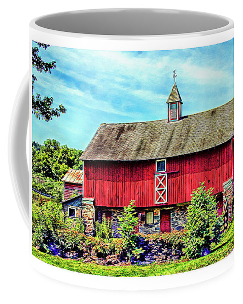 Pennsylvania Coffee Mug featuring the photograph Pennsylvania Barn by Margie Wildblood