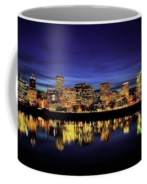 Portland Coffee Mug featuring the photograph Portland Oregon by Don Siebel