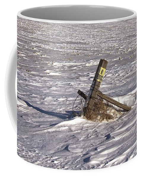 South Dakota Coffee Mug featuring the photograph Posted by M Dale