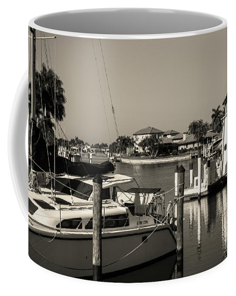 Florida Coffee Mug featuring the photograph Punta Gorda From Marion by Don Kerr