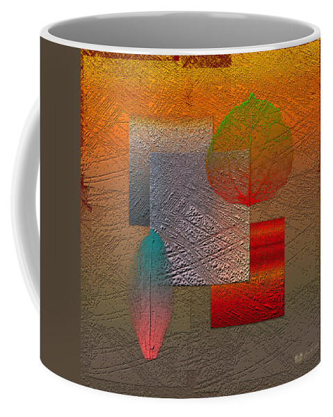 Abstracts By Serge Averbukh Coffee Mug featuring the photograph Quiet Sunset at the End of Northern Summer by Serge Averbukh