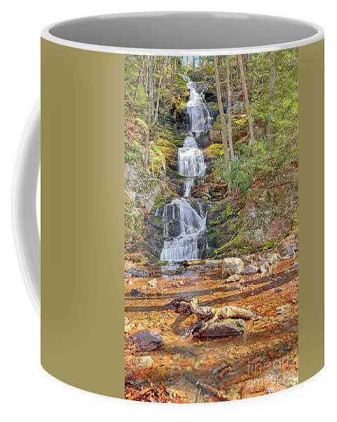 Water Coffee Mug featuring the photograph Buttermilk Falls by Paul Fell