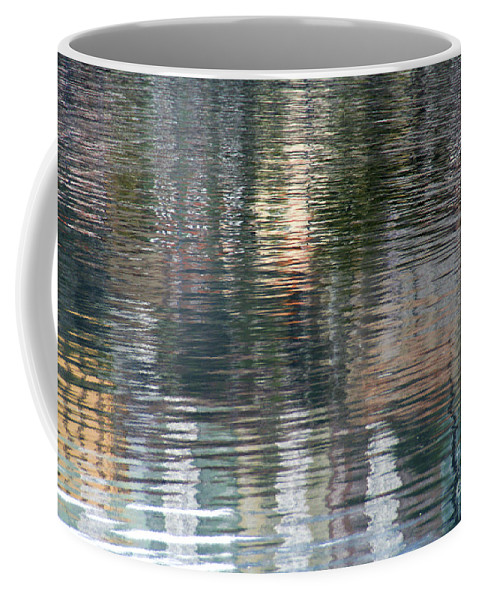 Reflection Coffee Mug featuring the photograph Reflections In Water by Vladi Alon