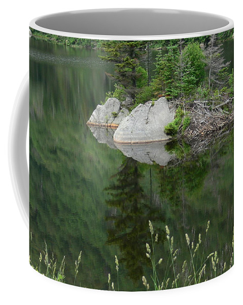 Water Nancie's Photography Coffee Mug featuring the photograph Reflections by Nancie DeMellia