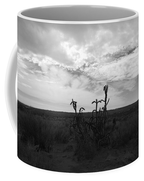 Black And White Coffee Mug featuring the photograph Rio Rancho by Rob Hans