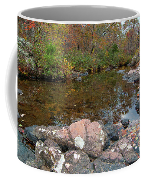 Missouri Coffee Mug featuring the photograph Rocky Creek by Steve Stuller