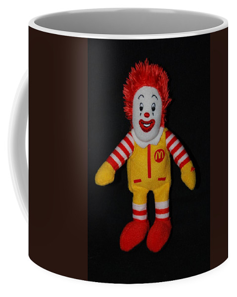 Ronald Mcdonald Coffee Mug featuring the photograph Ronald Mcdonald by Rob Hans