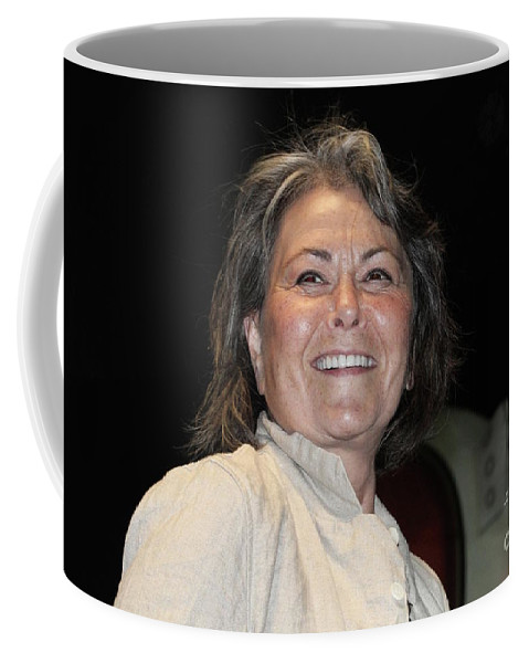 Presidential Candidate Roseanne Barr Coffee Mug featuring the photograph Roseanne Barr by Concert Photos