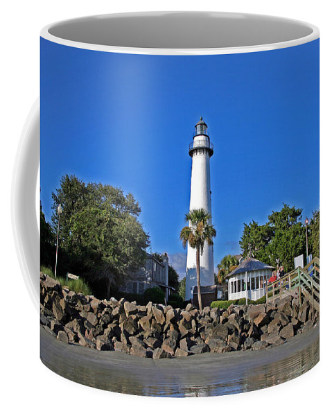 Water Coffee Mug featuring the photograph Saint Simons Island by David Campbell