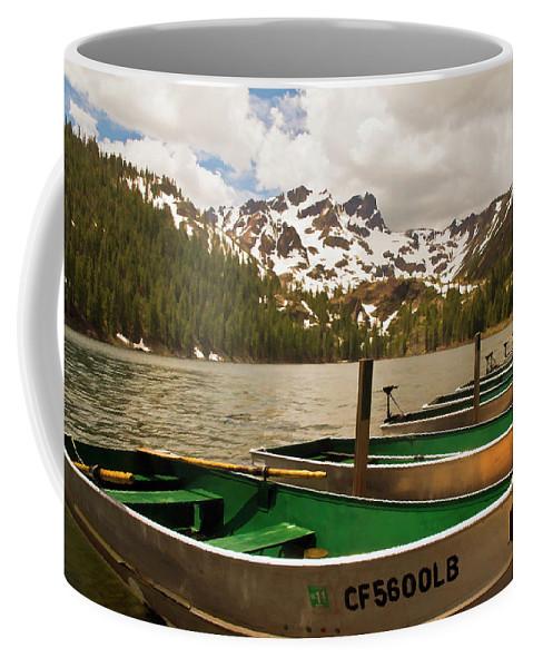 Sardine Lake Coffee Mug featuring the photograph Sardine Lake by Mick Burkey