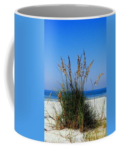 Sea Oats Coffee Mug featuring the photograph Sea Oats by Gary Wonning