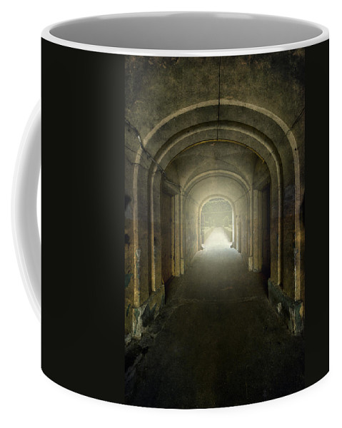 Tunnel Coffee Mug featuring the photograph Secret Garden by Jaroslaw Blaminsky