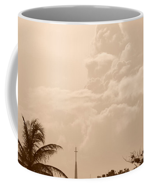 Sepia Coffee Mug featuring the photograph Sepia Sky by Rob Hans
