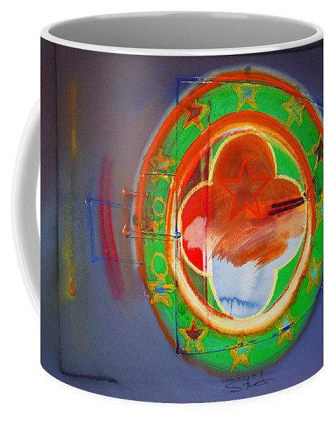 Symbol Coffee Mug featuring the painting Ship Of State by Charles Stuart