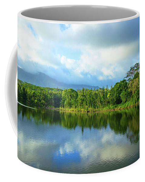 Lake Coffee Mug featuring the photograph Silence by Kris Hiemstra