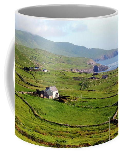 Skellig Ring Coffee Mug featuring the photograph Skellig Ring - Ireland by Joana Kruse