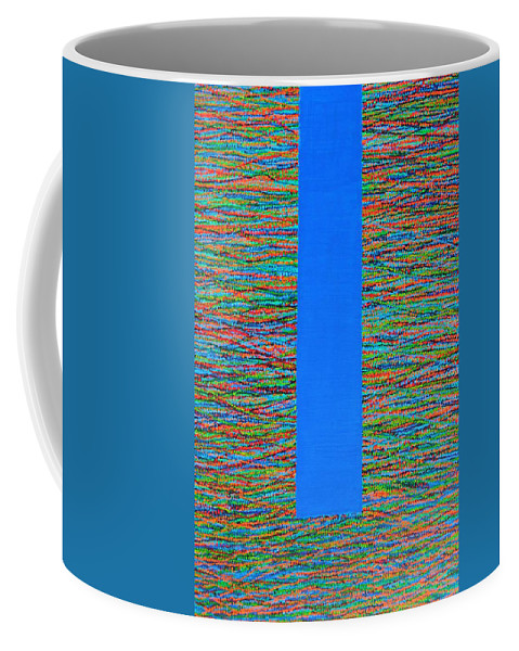 Contemporary Coffee Mug featuring the painting Small Door by Kyung Hee Hogg