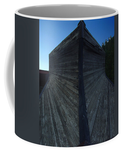 Train Coffee Mug featuring the photograph Snow Plow by Peter Piatt